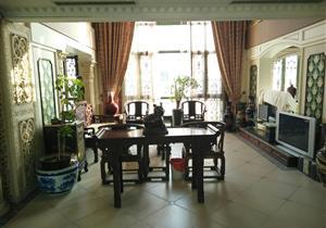 紫薇苑顶楼复式满二红本少税中空客厅花园中间安静