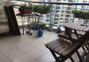 阳光带海滨城中高楼层143平精装4房户型南北通