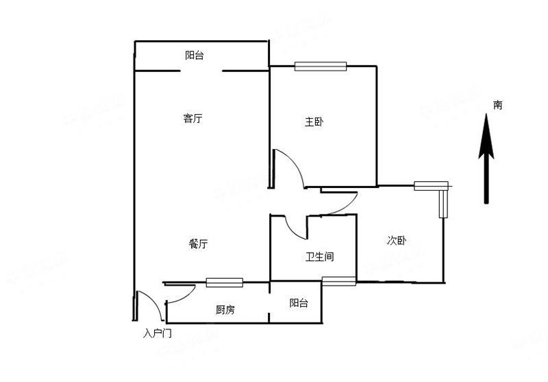 招商桃花园三期【蛇口 桃花园三期二房精装修保养好 .