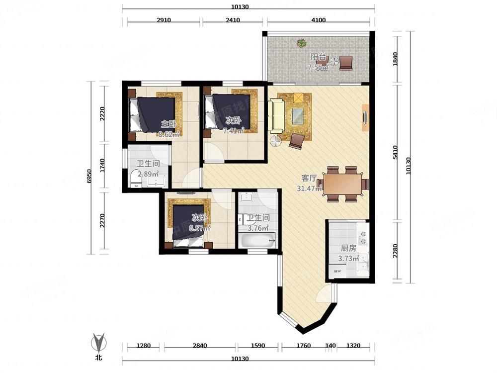 新德家园-户型图